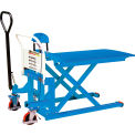 Manual High Lift Skid Truck 2200 Lb. Capacity 20-1/2 X 44-1/2