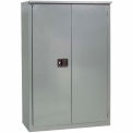 """Jamco Fire Resistant Cabinet BX55-GP, All Welded 34""""W x 34""""D x 65""""H Gray"""