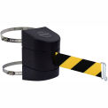 Warehouse Retractable Barrier Clamp Mount 24 Ft Belt