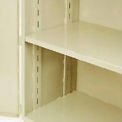 "Jamco Additional Shelf 248AT-AP - For Heavy Duty Storage Cabinet 48""W x 24""D Putty"
