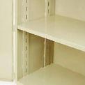 "Jamco Additional Shelf 448AT-AP - For Heavy Duty Storage Cabinet 48""W x 36""D Putty"