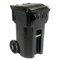 Otto Mobile Trash Container - 65 Gallon Black