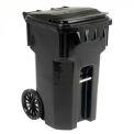Otto Mobile Trash Container - 65 Gallon Black