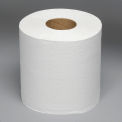 """Boardwalk 2-Ply Center-Pull Perforated Hand Towels 8"""" x 10"""", White 660 Ft./Roll, 6/Case - BWK6400"""