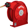 """Reelcraft 5450 OLP 1/4"""" x 50' 300PSI All Steel Compact Retractable Hose Reel For Air/Water"""