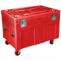 Shipping Container / Site Box Od 45 X 30 X 34 With Casters