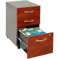 Bush Furniture Three Drawer File Cabinet (Unassembled) - Hansen Cherry - Series C
