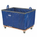 Best Value 24 Bushel Blue Vinyl Basket Bulk Truck