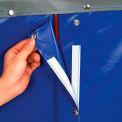 Replacement Liner for Best Value 8 Bushel Blue Vinyl Basket Bulk Truck