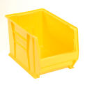 Akro Bins Super Size Plastic Stacking Bin 12-3/8 X 20 X 12 Yellow