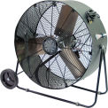 TPI 36 Portable Blower Fan Direct Drive Swivel Base PBS-36D 1/3 HP 12500 CFM