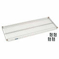 Poly-Z-Brite Wire Shelf 18x54 With Clips