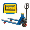 Pallet Scale Truck, Pallet Scale Jack with Weight Indicator 4400 Lb. Capacity