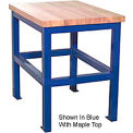 18 X 24 X 36 Standard Shop Stand - Maple - Gray