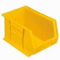 Premium Plastic Stacking Bin QUS242 8-1/4 x 13-5/8 x 8 Yellow - Pkg Qty 12