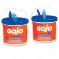 GOJO FAST WIPES Premoistened Hand Cleaning Towels, 225 per Bucket, 2/Carton - GOJ629902CT