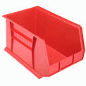Akro Bins Plastic Stacking Bin 11x18x10 Red