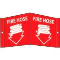 Fire Hose Sign - Acrylic 5-3/4 x 8-3/4