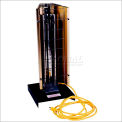 TPI Portable Electric Infrared Heater Pre-Wired FHK-212-1CA - 1800W 120V 1 PH