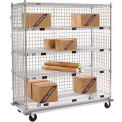 Enclosed Wire Exchange Truck - Five Wire Shelves - 1000 Lb. Cap.