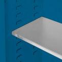 "Global&#8482 Acid Corrosive Additional Shelf/Poly Tray Liner - 19-3/4""W x 14-1/8""D"