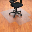 "45""W x 53""L Chair Mat w/ 25"" x 12"" Lip for Hard Floor"
