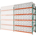 """Record Storage Rack Add-On Letter Legal 96""""W x 42""""D x 120""""H"""