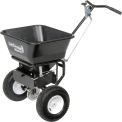 Walk Behind Salt Spreader 1.5 cu. ft. Capacity Carbon Steel Frame