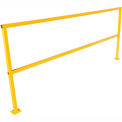 "Square Steel Guard Rail 42""H X 96""L"