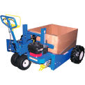 All Terrain Gas Power Lift & Drive Pallet Truck, Pallet Jack 2000 Lb. Cap.
