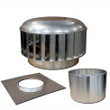 Envira-North Hurricane™ Turbine Ventilator 24 Inch Straight Flue
