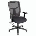 Multifunction Mesh Back Fabric Upholstered Seat Office Chair