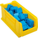 Akro Bins Super Size Plastic Stacking Bin 11x23-7/8x10 Yellow