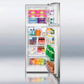 SUMMIT FF1325SS Full Size Refrigerator-Freezer