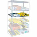 """Sloped Flow Shelving Additional Level 48""""W x 18""""D Gray"""