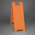 "Minicade Barricade Sign Stand 36"" H With 2 Panels No Sheeting"