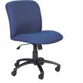 Big & Tall Mid Back Chair Blue