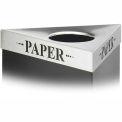 Triangular Lid - Paper
