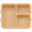 Cambro Tray 3 Compartment Deep - Beige