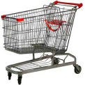 Steel Shopping Cart 6.9 Cu. Ft. Capacity
