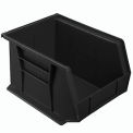 Akro Bins Plastic Stacking Bin 8-1/4 X 10-3/4 X 7 Black