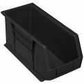 Akro Bins Plastic Stacking Bin 8-1/4 X 18 X 9 Black