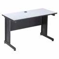 "Interion™ 48"" Desk Gray"