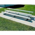 Tip-N-Roll Bleacher - Aluminum Frame, 3 Row 9'W