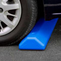 "Parking Curb with Hardware 72""L x 4""H x 8""W Blue"