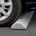 "Parking Curb with Hardware 72""L x 4""H x 8""W Gray"