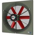 "Multifan Panel Fan 10"" Diameter Single Phase 120v With Grill"
