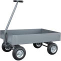 "Solid Steel Deck Wagon Truck 48 x 24 with 6"" Lip Deck"