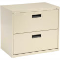 Interion™ 30= Lateral File Cabinet 2 Drawer Putty