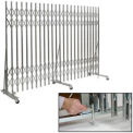 Xtra Duty Folding Security Gate Floor Mount 6'-9'